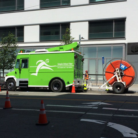 how to build out a fibre network